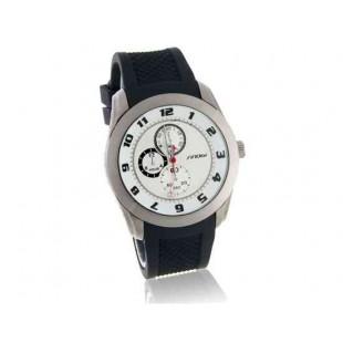 SINOBI Мужские Водонепроницаемые Аналоговые часы (Balck and White)