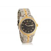 Curren мужские Аналоговые часы с нержавеющей стальной ремень, календарь (черный)