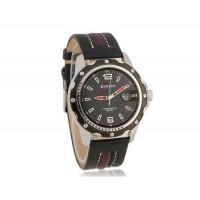 CURREN 8104 часы с кожаным ремешком