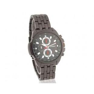 SINOBI Мужские Аналоговые часы из нержавеющей стали Black (черный)