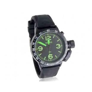 SKONE 7150 Мужская Круглый циферблат аналоговых часы с пластиковым ремешком (зеленый)