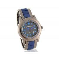 Gemax 6287 мужские Круглый циферблат аналоговые часы с датой Дисплей (синий)