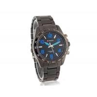 CURREN 8107 Водонепроницаемость Стильный Аналоговые часы с Аллой ремешок (синий)