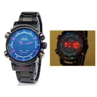 Мужские многофункциональные водонепроницаемые спортивные часы WH-1101
