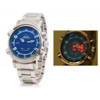 Мужские Аналоговые и светодиодные 30M водонепроницаемые спортивные часы WH-1101
