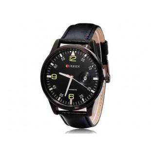 CURREN 8116 наручные часыс календарем  (черный)