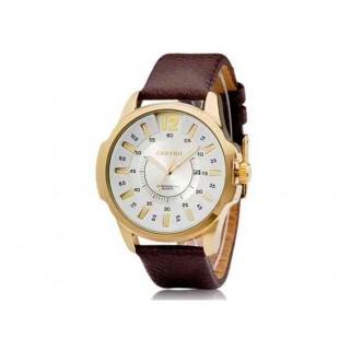 CURREN 8123 Мужская Круглый циферблат аналогового Кварцевые часы с датой Дисплей (белый)