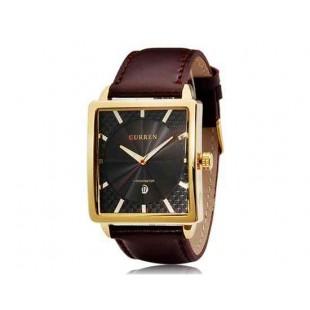 CURREN 8117 наручные часыс календарем  (черный)