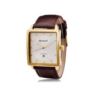 CURREN 8117 Мужские часы Аналоговые площади циферблат с датой Дисплей (белый)