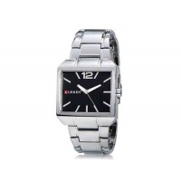 CURREN 8132 Мужские часы квадратный  циферблат с браслетом