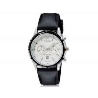 VALIA  8186 мужские Аналоговые часы с календарем (белый и черный) М.
