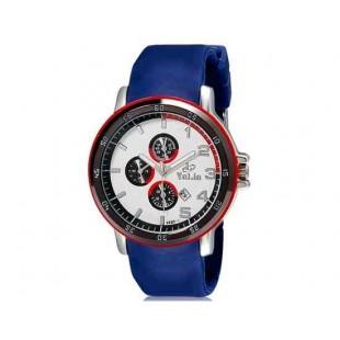 Валя 8200 Мужские Аналоговые часы (синий) М.