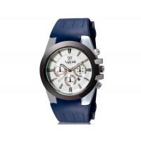 VALIA  8216 мужские Аналоговые часы с календарем и силиконовый ремешок (синий) М.
