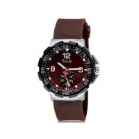 VALIA  8202 мужские Аналоговые часы с силиконовым ремешком (коричневый) М.
