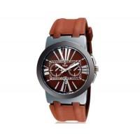 VALIA  8195 Мужские Аналоговые часы с календарем (коричневый) М.