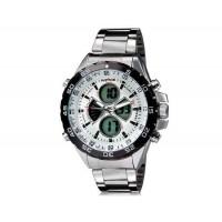 WEIDE 1103 Аналоговый и Цифровой циферблат 30 м Водонепроницаемые светодиодные спортивные часы