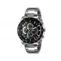 Kingsky 8840 мужские Круглый аналоговый Кварцевые часы с календарем и нержавеющая сталь Ремешок (бежевый) М.