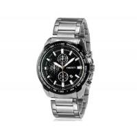 Kingsky 8842 мужские кварцевые аналоговые часы с датой Дисплей & нержавеющая сталь Ремешок (черный) М.
