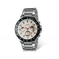 Kingsky 8839 мужские кварцевые аналоговые часы с датой Дисплей & нержавеющая сталь Ремешок (белый) М.