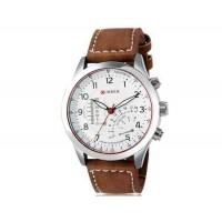Curren 8152 Мужские кварцевые аналоговые часы с искусственного кожаный ремешок М.