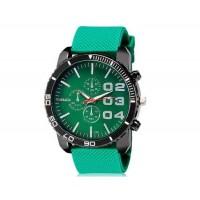 WoMaGe 1091 мужские Аналоговые часы с силиконовым ремешком (зеленый) М.