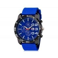WoMaGe 1091 мужчины ` s аналоговые часы с силиконовый ремень (синий) м.