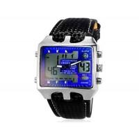 OHSEN AD0930 30M Водонепроницаемые наручные спортивные часы с подсветкой (синие)