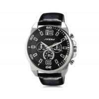 Купить Sinobi S9478G Аналоговые кварцевые наручные часы (черный)
