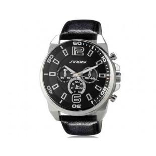 Sinobi S9478G Аналоговые кварцевые наручные часы Army Black (черный)
