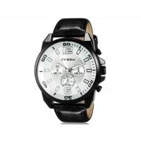 Купить Sinobi S9478G Аналоговые кварцевые наручные часы (белый)