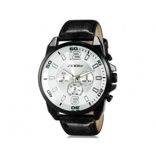 Sinobi S9478G Аналоговые кварцевые наручные часы Army White (белый)