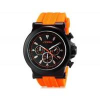 SINOBI  Аналоговые наручные часы с кварцевым механизмом  (оранжевый)