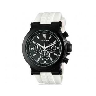 SINOBI Аналоговые наручные часы с кварцевым механизмом (белый)