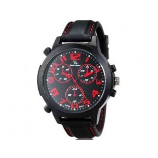 V6 Super Speed V0190 Кварцевые наручные часы с функцией календаря