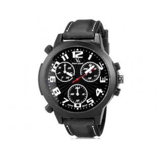V6 Super Speed V0190 Кварцевые наручные часы с функцией календаря (белый)