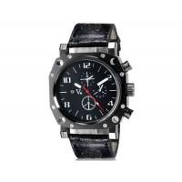 Купить V6 Super Speed V0015 Кварцевые наручные часы с функцией календаря (черный) М.