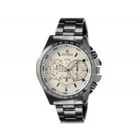 DINIHO 8015G мужские модные Аналоговый водостойкой нержавеющей стали наручные часы с Стальной браслет (белый)