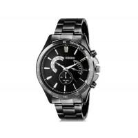 DINIHO 8011G мужские модные Аналоговый нержавеющей стали наручные часы с Weekly Показать & Стальной браслет (черный)