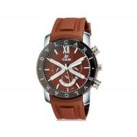 VALIA  8185 мужские Потрясающие Аналоговый кварцевый водостойкой наручные часы с функцией календаря и резинкой (Brown)