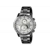 DINIHO 8012G мужские аналоговые наручные часы с нержавеющей стальной лентой (белый)