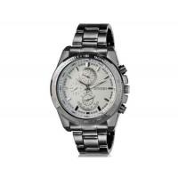 DINIHO 8014G мужские модные Аналоговый Простой стиль нержавеющей стали наручные часы с нержавеющей стальной лентой (белый)