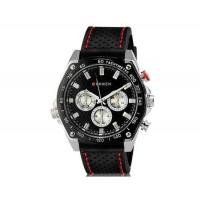 Curren 8146 Мужские модные водостойкой наручные часы с Weekly Display & ТПУ Резиновая лента (черный)