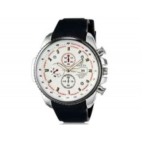 VALIA  8258 мужские модные аналоговые наручные часы с функцией календаря и силиконовой лентой (белый)