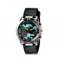 WoMaGe 1118 Unisex  Силиконовые спортивные часы  (черный)