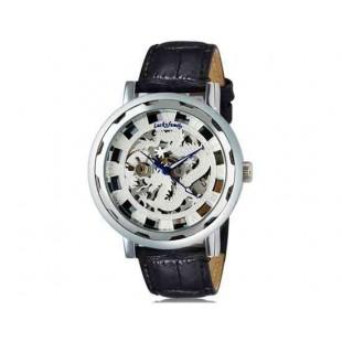 Luckyfamily Dragon мужские автоматические механические водонепроницаемые наручные часы