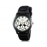 V6 0217 Super Speed Женские Потрясающая 3-Dial аналоговые наручные часы (белый)