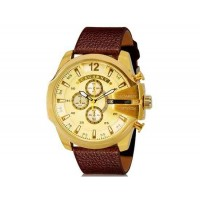 CAGARNY 6839  Спортивные часы с календарем (Золотой)