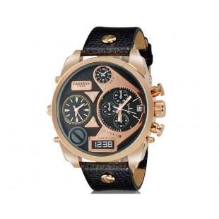 CAGARNY 6822 Спортивные часы - календарь (черный)