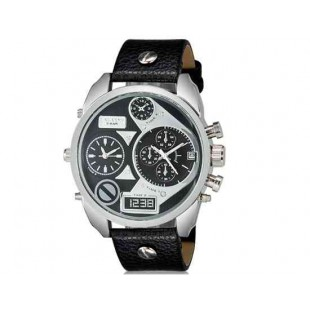 CAGARNY 6822   наручные часы с календарем дисплей (черный   белый)