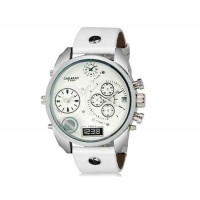 CAGARNY 6822 наручные часы с календарем (белый)